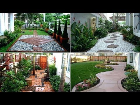 Small Garden Ideas Small Garden Design House And Garden Youtube