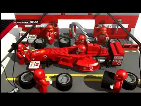 Lego Racers Ferrari 2004 Youtube