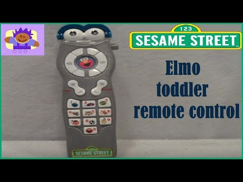 2006 Sesame Street Talking Elmo Toddler Toy Remote