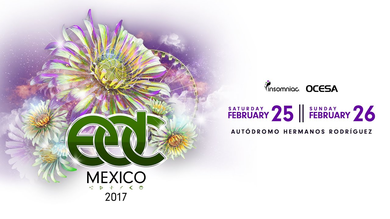 EDC Mexico 2017 - Announcement - YouTube