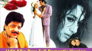 Udit Alka Rare Full Romantic HQ Version - Aye Kaash Tum Kehdo Kabhi (Happy Bday Shah)