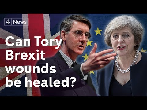 Tory conference seeks to cover Brexit cracks