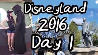 Disneyland Vlogs Day 1 - Kylo's Scary