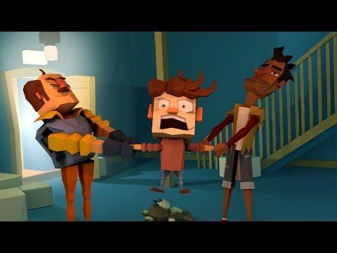 Minecraft   Hello Neighbor - NEIGHBOR STOLE THE CHILD? (Hello Neighbor in Minecraft)