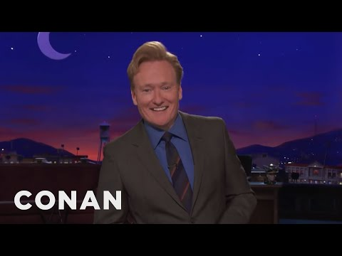 Conan On Trump's Quick Probe  - CONAN on TBS