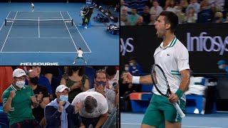 Pogledajte kako je Novak Đoković ušao u finale