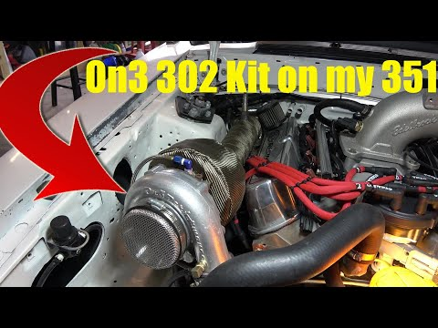 On3 Turbo 302 Kit Modified for my 351 - YouTube