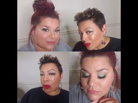 Full Face Glam   Annalise G & India G-M  Nars, Tarte, Makeup geek, MAC