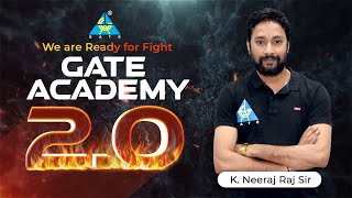 We are ready for fight | GATE ACADEMY 2.0