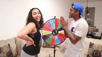Spin the MYSTERY Wheel Challenge w/GIRLFRIEND!! (1 Spin = 1 Dare)