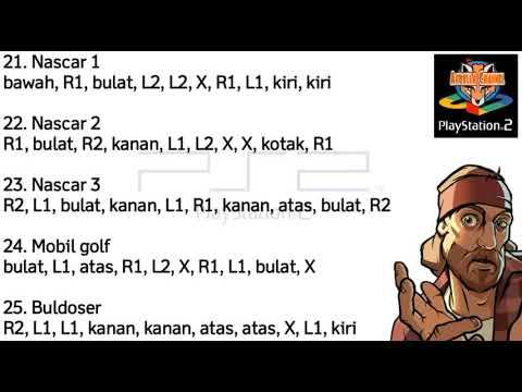 Kode Gta Ps2 Lengkap