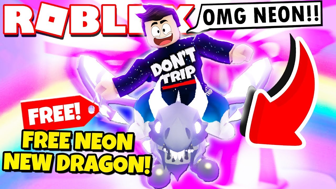 How To Get A Free Neon Shadow Dragon In Adopt Me New Adopt Me