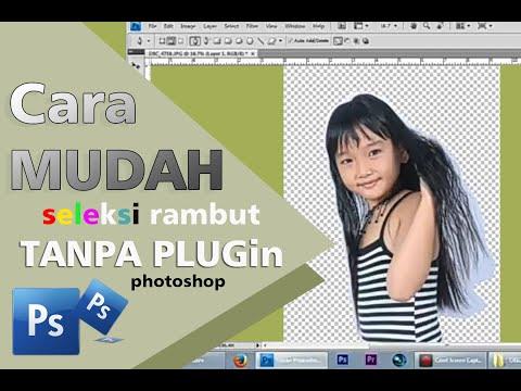 Cara Edit Seleksi Rambut Dengan Photoshop Tanpa Plugin Tambahan