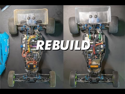 HOW TO REBUILD A RC CAR || Cleaning tips, wiring, soldering
