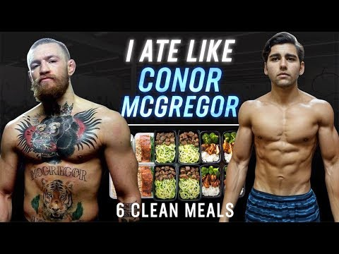 I Ate Like Conor McGregor For A Day