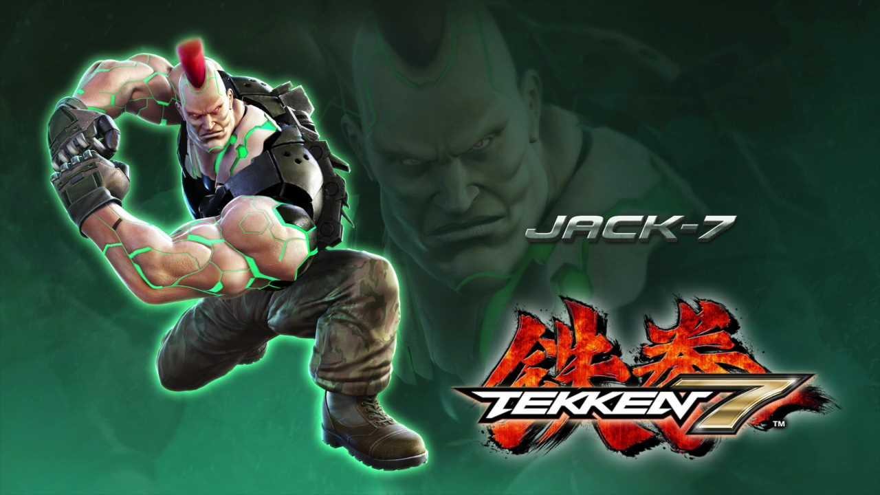 Tekken 7 S New Jack Has Been Revealed Watch Him Punch People