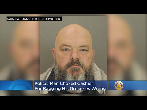 Chris Proctor - Man Chokes Cashier Because Of How His Potato Chips Were Bagged