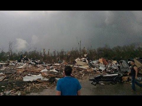 Deadly Tornadoes 29 killed Arkansas Oklahoma Kansas Devastation Caught on Tape