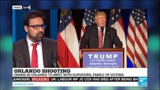 France 24 English: Ahmadiyya spokesperson Asif Arif on Trump & Islamophobia