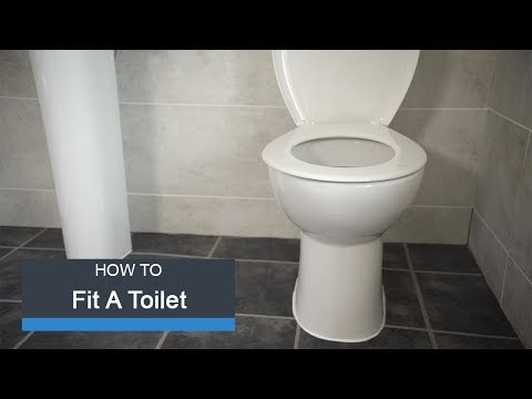 Wickes How To Fit a Toilet
