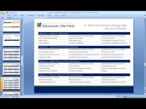 business strategy presentation youtube