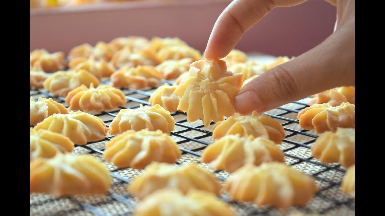 Cách làm bánh quy bơ /butter cookies