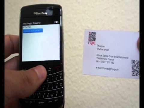 Utiliser Un Code QR Pour Ses Cartes De Visite