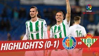 Resumen de Getafe CF vs Real Betis (0-1)