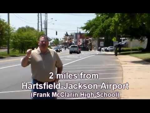 2 miles from Hartsfield-Jackson airport, Frank McClarin High School (longer)
