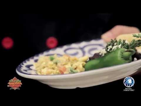 Huevos Gourmet en un ¡SAS!