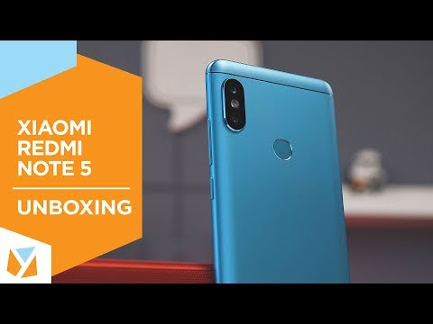 Xiaomi Redmi Note 5 Unboxing, Hands-on