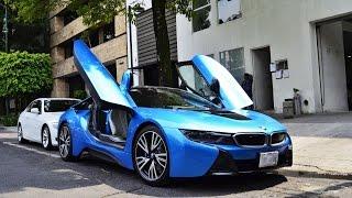 BMW i8 Protonic Blue - Ciudad de México