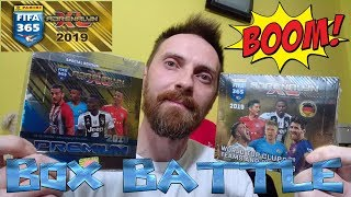 2X BOX BATTLE POJEDYNEK NA BOXY FIFA 365 2019 PREMIUM VS FIFA 365 2019 STANDARD PANINI