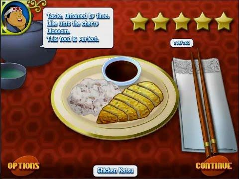 เกมทำอาหารญี่ปุ่น ข้าวไก่ทอดทงคัตสึ Chicken katsu,Torikatsu 鶏カツ,と りカツ Cooking Game