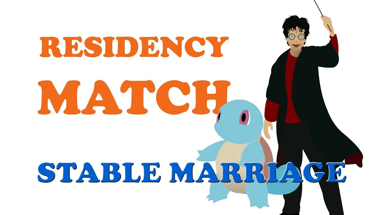 Residency Match (Stable Marriage Problem, Gale-Shapley Algorithm)