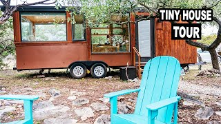 Ultra Modern Tiny House On Wheels – Hidden Gem In The Texas Hill Country  Full Tour