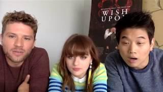 Wish upon stars: ryan phillippe, joey king & ki hong lee (facebook live chat)