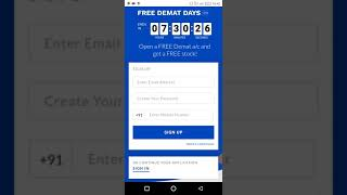 Free 100% free Demat Account with free 100 rupees stock. Very low brokerage charge. Uptox Demat a/c