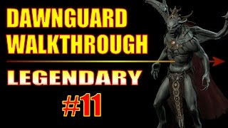 Skyrim Dawnguard Walkthrough #11, Enhanced Dwarven Crossbow Schematic (Lost Knife Hideout)