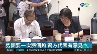 基本工資審議會 勞團喊要28000元  華視新聞 20180816