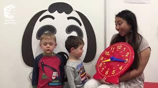 Shichida and Clocks! Tick Tock Fun!