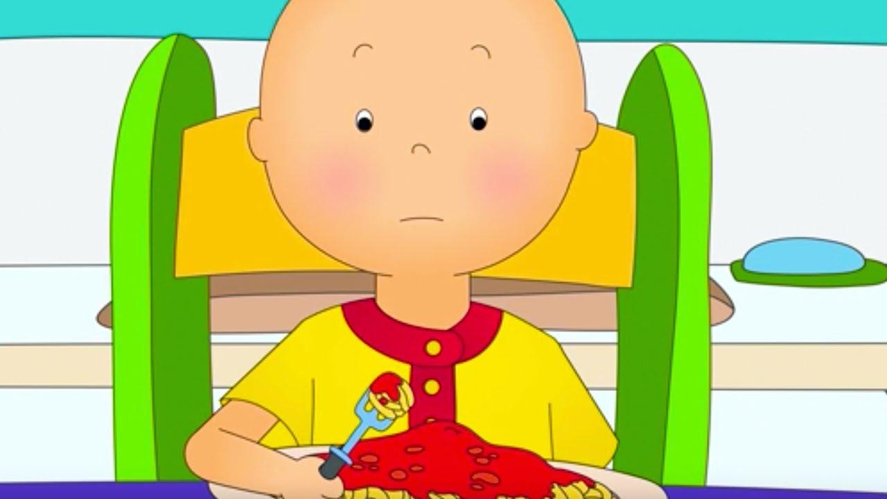Caillou en fran ais caillou n 39 aime pas les spaghettis dessin anim en entier nouvel - Dessin caillou ...