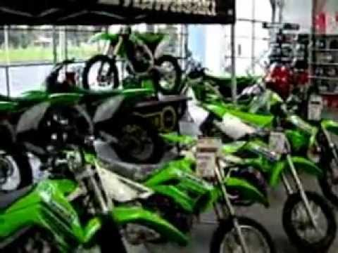 kawasaki brand new dirt bikes for sale youtube. Black Bedroom Furniture Sets. Home Design Ideas