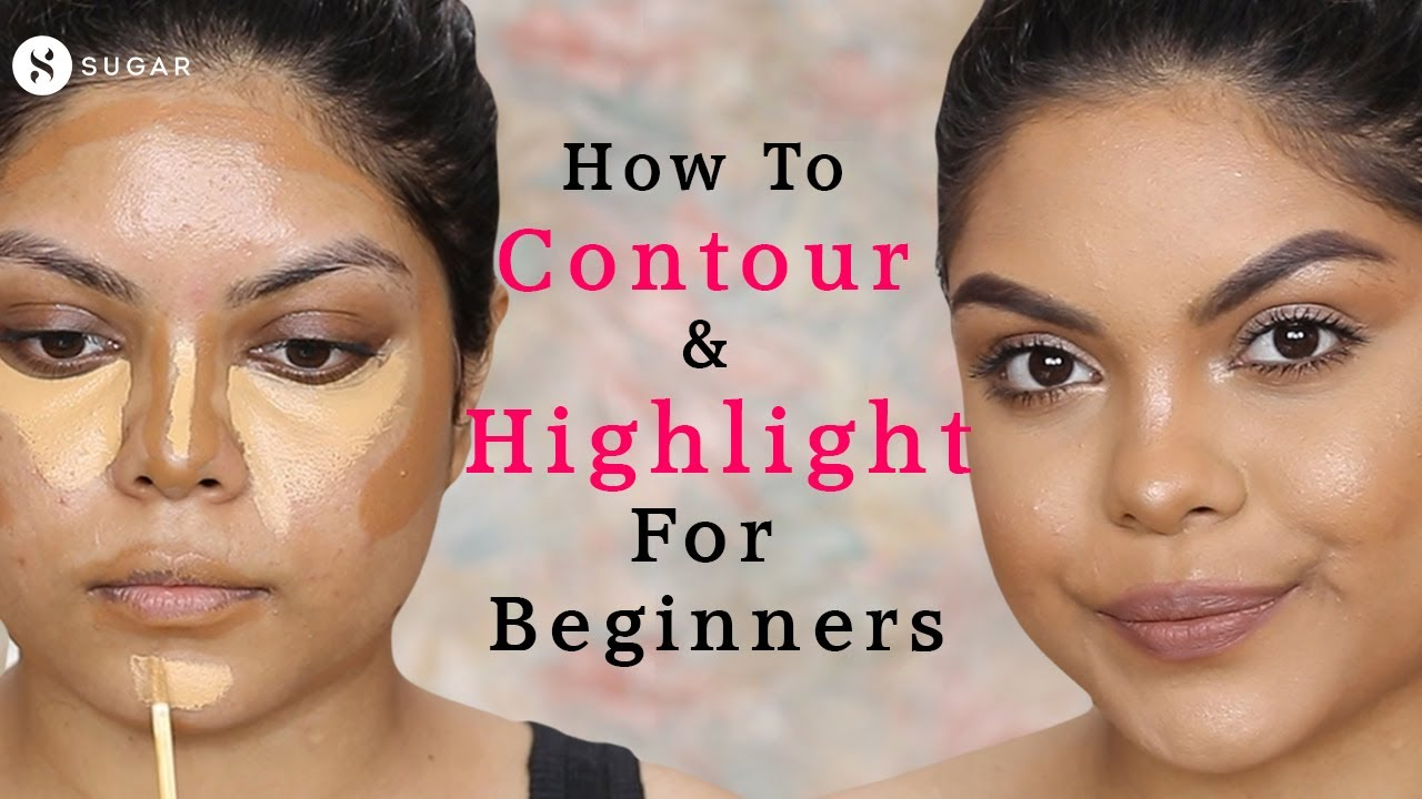 How To Contour & Highlight For Beginners Ft. @sohini chanda| SUGAR Cosmetics