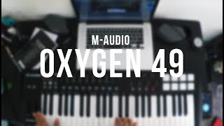 Unboxing M-Audio Oxygen 49 Keyboard Controller
