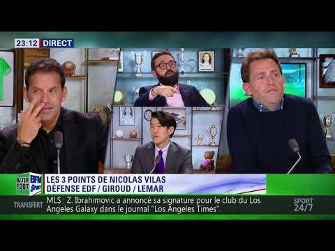 After Foot du vendredi 23/03 – Partie 1/3 -  Débrief de France/Colombie (2-3)