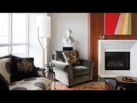 Interior Design: Elegant Art-Filled Condo