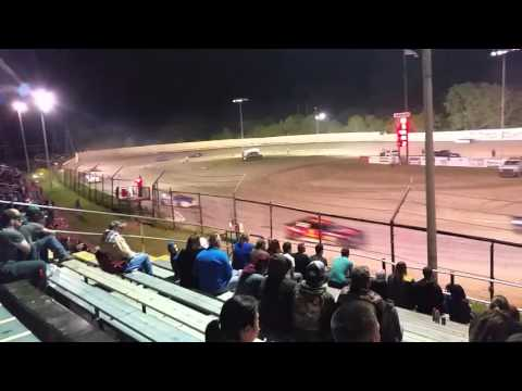 Creek County Speedway Mini Stock A Feature April 30, 2016