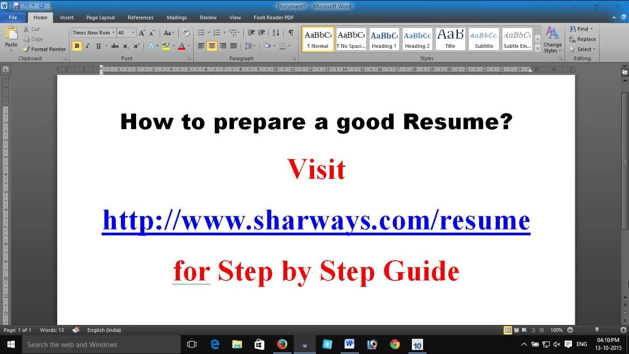 how to prepare a good resume write a good resume resume how to prepare a good resume write a good resume resume template biodata template