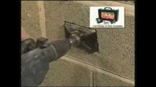 Armeg EBS Double Box Cutter / Electrical Box Sinker